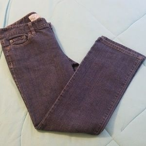 Ann taylor slim boot blue jeans new w/o tags